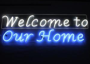 China Antique Outdoor Neon Open Sign , Long Lifespan Personalized Neon Signs For Home on sale