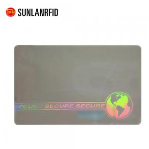 China SUNLANRFID Plastic Card Printing Full Color PVC Card Custom Membership Card with hologram on sale