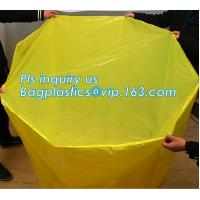 anti aging UV resistant dust proof waterproof reusable pallet cover, sealable square bottom pallet shrink wrap plastic c