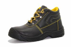 Quality Anti Static Steel Toe Shoes Oil Resistance With Buffalo Leather Upper for sale