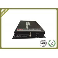 1 Channel Video Digital Optical Converter With BNC FC Port For CCTV Cameras
