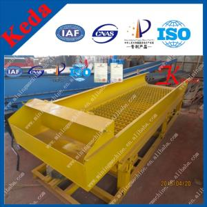 China Gold Panning Equipment Shaking Sluice for Sale on sale