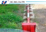 10tons Travelling Tower Crane with Base With Ballast Type Foundation and 1.8ton Tip Load