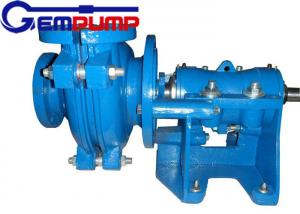China 50B-L Low Abrasive  Centrifugal Slurry Pump horizontal double shell axial suction on sale