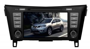 China GPS Navigation Nissan Car DVD Player With 8 Inch Touch Screen For Nissan Qashqai 2014 on sale