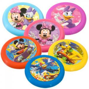 China Cartoon Disney Mini Mickey Mouse Flying Disc Toy For Promotional on sale