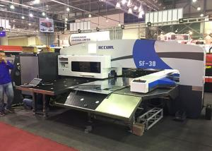 China Siemens CNC Amada Turret Punching Machine 4 Axis 32 Stations Horizontal on sale