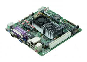 China 6 COM ,8 USB2.0 ATOM Mini Itx  Motherboard For Industrial Pc Mainboard on sale
