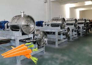 China High Efficient Vegetable Processing Line /  Juice Production Equipment on sale