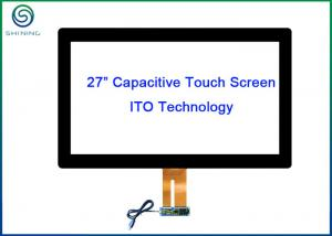 China Aspect Ration 16 / 9 Industrial Touch Screen 27 Inch Projected Capacitive Touch Panel on sale