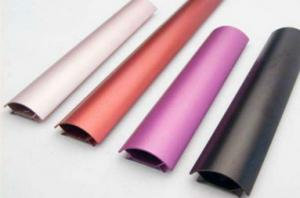 China Colored Anodizing  6061 Aluminum Profile ,  Customized Shape , With Finished Machining on sale