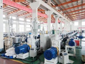 China Microduct Hdpe Pipe Extruder Production Line / PE Production line to make microduct tube on sale