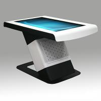 Half Standing Multi Touch Screen Table High Definition Image Display For Teaching