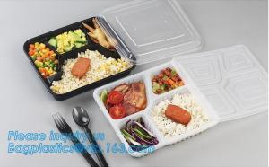 China 650ml hot selling disposable pp plastic snack food boxfood grade disposable plastic food sushi box container tray packag on sale