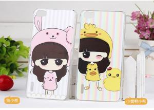 China Fashion Cell Phone Protection Cases , PC Hard Back Case for Huawei Honor 6 on sale