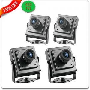 China S/N ratio 48dB 420TVL Mini CCD chroma Video 100,000 PAL / NTSC camera on sale