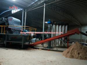 China High Efficiency Sawdust Making Machine 50Hz Three Phase For Wood Crusher on sale