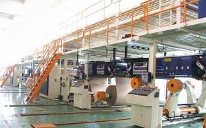 China 2 layers corrugated paper production line carton box making machine on sale