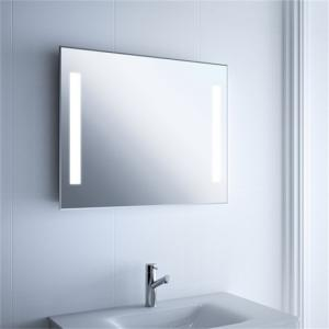 China Large Long Illuminated Lighted Bathroom Mirror Wall Mount For Home And Hotel Project on sale