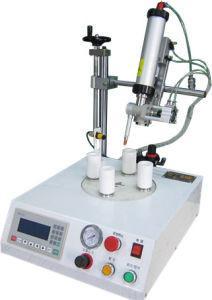 China Bulb Cap Glue Dispensing Robot For B22 E27 LED Bulb Cap Adhesive Dispenser Robot on sale