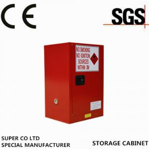 Quality Metal Portab Chemical Storage Cabinet With Single Door / Flammable Safety Cabinet for sale