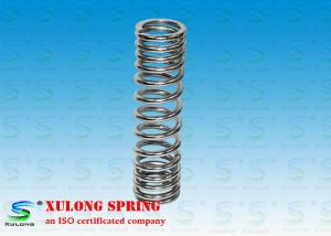 China Chrome Coated Steel Compression Springs , Front Shock Absorber Springs For Motorcycle on sale