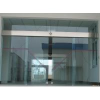 China Double Exterior Frameless Automatic Glass Door Soundproof For Hospital on sale