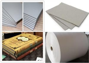 Quality Roll and Sheets Grey Board / Grey Chipboard for Book Cover / Arch file for sale