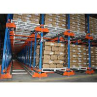 China Semi - Automatic Radio Shuttle Racking Storage System Heavy Duty 800-5000kgs on sale