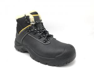 China Anti Perforation Steel Toe Work Shoes Outdoor Activities With Fur Lining on sale