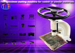 China Manual punching machine / dumbbell test specimen making machine on sale