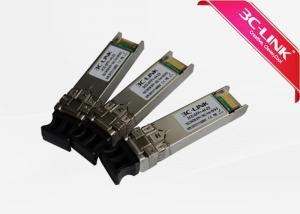 China Low Jitter Optical Fiber Transceiver 10G DWDM Transmission 10km Dstance on sale