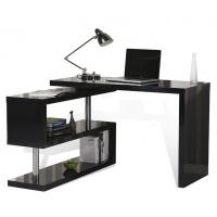 China Adjustable Height Office Table , T Corner L Shaped Computer Desk With Drawers on sale