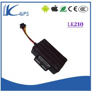China LKgps With Battery Motorcycle GPS Locator MTK Chip , Free GPS Tracking System LK210 on sale