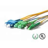Single Mode Fiber Optic Pigtail 0.9 / 2.0 / 3.0mm SC APC Pigtail Fan - Out Pigtail