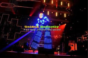 China LED Clothing/Light suits// Kryoman robot/Bar/KTV LED Robot suits/ david guetta robot /LED Costume on sale