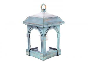 China Durable PS Material Candle Wind Lamp Charge Time 4 -5 H / Solar Landscape Lighting on sale