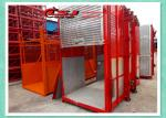 Man And Material Construction Elevator Double Cage Overload Protection