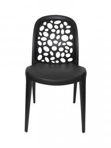 China Italian Leisure Restaurant Plastic Chairs Armless , Scratchproof on sale