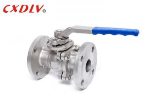 China High Pressure 2 Piece Ball Valve Manual JIS 20K CF8 Stainless Steel Gas on sale