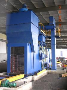 China Machine de nettoyage de grenaillage de plaque d'acier de convoyeur de rouleau de rendement élevé pour le détartrage on sale