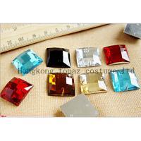 China sew on crystal stone square factory sew on rhinestone on sale