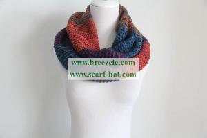 China New fashion multi color knitting scarf 15AW0388 on sale