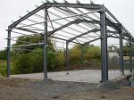 Sistemas de quadro claros do aço estrutural para construções de aço industriais, construção do armazém