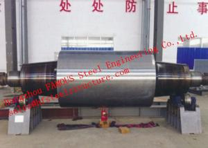 China High Carbon Tool Steel Solid Forged Backup Rolls For Cold And Hot Rolling Mills on sale