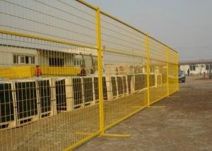 China Metal Construction Temporary Fencing For Backyard / Temporary Site Fencing on sale