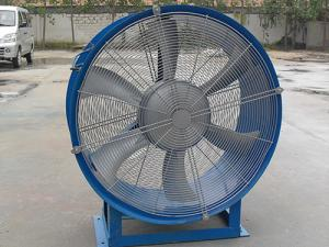 China High Efficiency Portable Ventilation Fan Tube Axial Flow Fan Long Service Life on sale