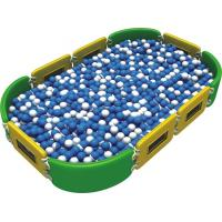 China Colorful Plastic Play Sets For Kids , Sea Balls Pool Type Kids Plastic Play Structure on sale