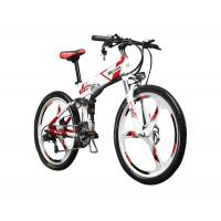 26 inch Folding Mountain Electric Bike With Suspension and Shimano Derailleur