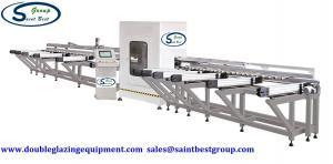 China Four Axis CNC Aluminium Fabrication Machinery Profile Cutting Center on sale